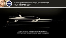 International debut of the Continental III 26.00 Raised Pilothouse