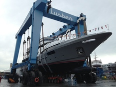Italian shipyard  Benetti have launched their third Classic Supreme 132 (BS003)