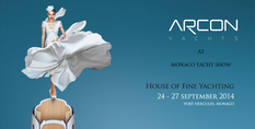 ARCON YACHTS at Monaco Yacht Show 2014