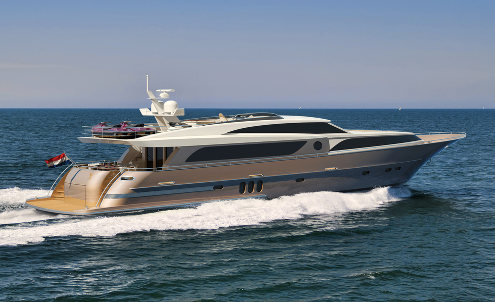 Wim van der Valk Continental III Raised Pilot House 30 m