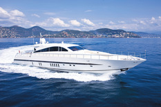 Yacht charter in Cannes Leopard CARAMIA