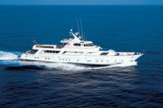 Yacht charter in Tenerife CRN AVA
