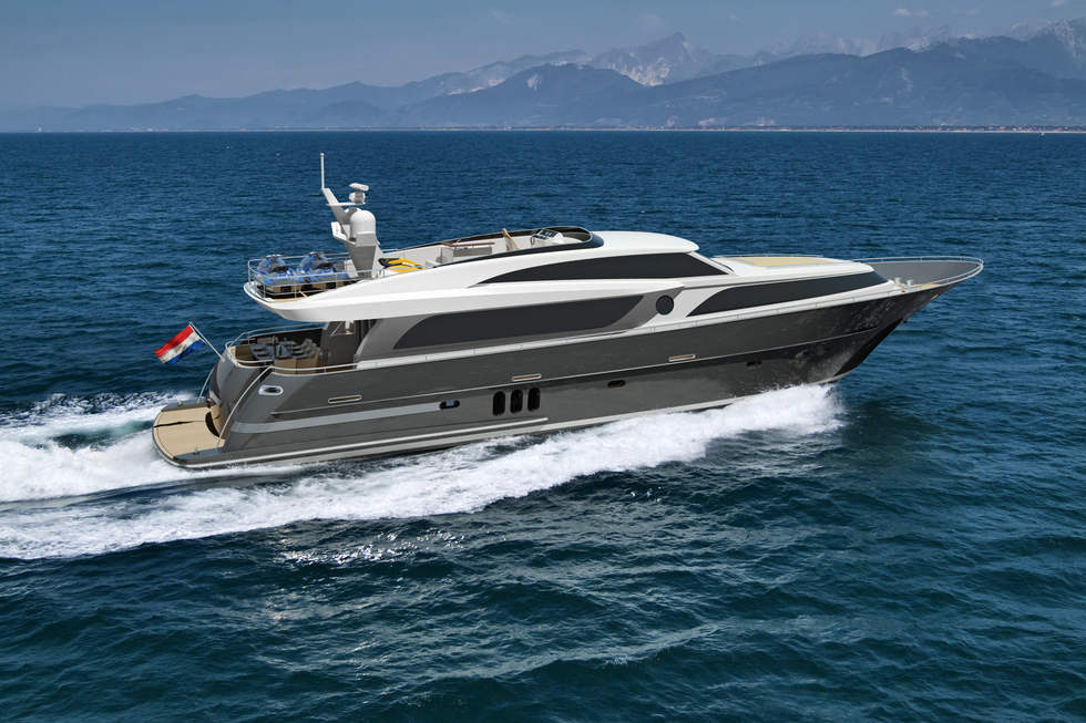 Wim Van Der Valk Continental III Raised Pilothouse 26.00