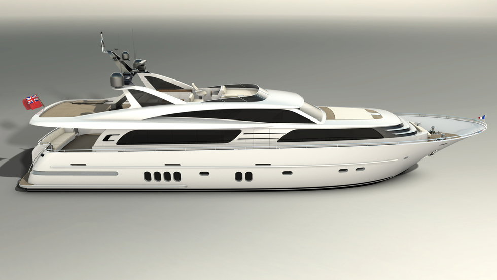 Wim Van Der Valk Continental III Raised Pilothouse 28.00