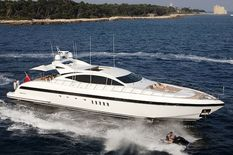 Yacht charter in Balearic Islands Mangusta ENZO