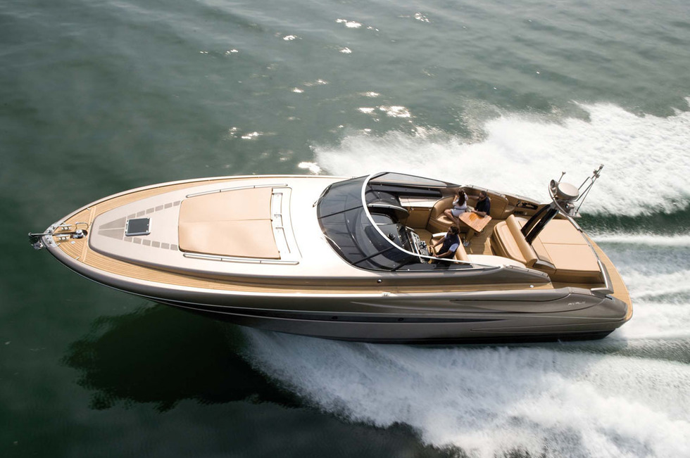 Image gallery small yachts for Small motor boat cost