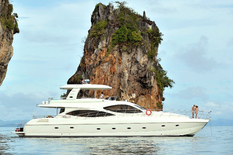 Rent a yacht in Thailand Lamberti 80