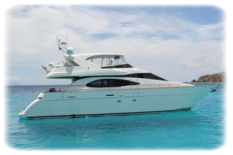 Charter yacht in Dominican Republic Azimut 70 GOOD TIMES