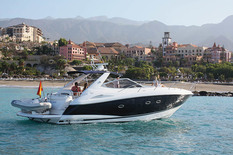 Yacht сharter in the Canary Islands Portofino 46
