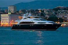 Yacht charter in Montenegro Sunseeker 34m CASSIOPEIA