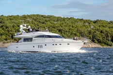 Yacht charter in Scandinavia Princess 75 DRUMMER