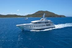 Yacht charter in Montenegro Feadship F45 Vantage