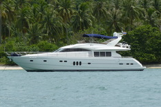 Rent a yacht in Thailand Princess SANOOK