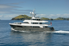 Yacht charter in Scandinavia Expedition Alloy 135'