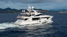 Yachts for sale in Mediterranean Sea Benetti Vivace 125