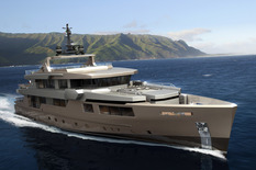 "Yachts for sale in Monaco ADMIRAL IMPERO 40 Meters Tri-deck ""Alloy"""