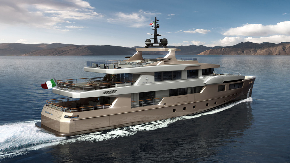 "ADMIRAL IMPERO 40 Meters Tri-deck ""Alloy"""
