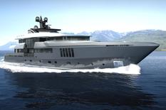 "Yachts for sale in Cannes ADMIRAL C-FORCE 50 Meters Tri-deck ""Steel"""