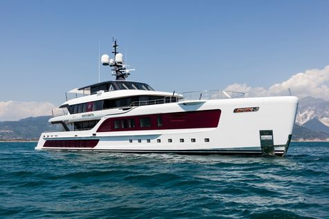 Yacht charter in Caribbeans Admiral QUINTA ESSENTIA 55M