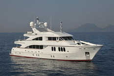 Charter yacht in Dominican Republic Fittipaldi 33.7m