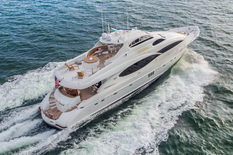 Charter yacht in Dominican Republic Lazzara 106