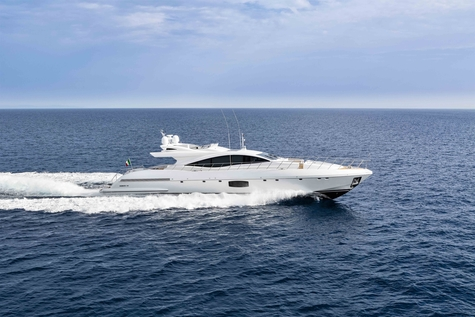 Yachts for sale in Barcelona Mangusta 110
