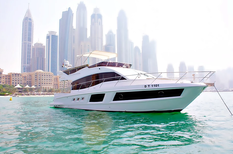 Yacht charter in Dubai Majesty 48ft