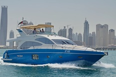 Yacht charter in Dubai Majesty 77ft