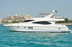 Yacht charter in Dubai Majesty 63ft