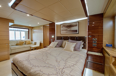 Yacht charter in Dubai Majesty 75ft