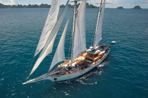 Yacht charter in Indonesia PEARL OF THE SEA