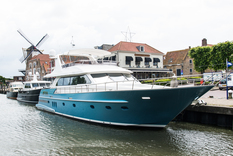 Motor yachts: super and megayachts AFINA Continental ll 2300