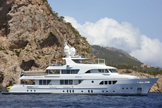 Motor yachts: super and megayachts Moonen 42M Sofia