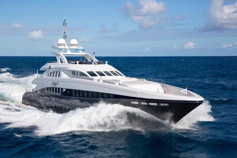 Yacht charter in the Cote d'Azur  LADY L 44.60m Heesen