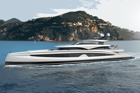 Yacht brokerage Heesen 67m Project SPARTA