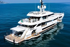 Aluminium yacht for sale Wider 165