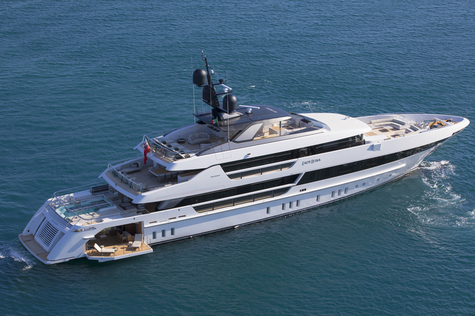Yacht charter in Cannes Sanlorenzo 52m LADY LENA