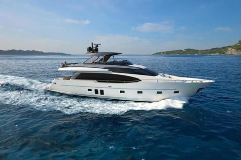 Yacht charter in the Cote d'Azur  Sanlorenzo LUCKY