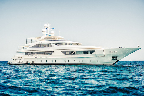 Yachts charter in Adriatic sea Sanlorenzo SCORPION