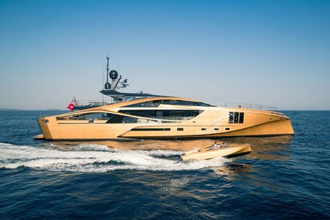 Yacht charter in the Cote d'Azur  Palmer Johnson PJ 48 KHALILAH