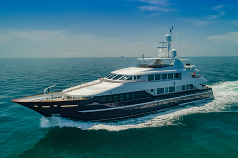 Yacht charter in Indonesia Heesen LADY AZUL