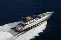 Yacht charter in Monte-Carlo Pershing SOLARIS