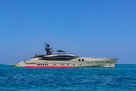 Charter yacht in Dominican Republic Palmer Johnson DB9 52m
