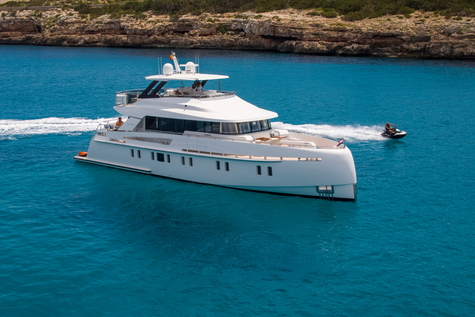 Yacht сharter in the Canary Islands Vanquish SEA STORY