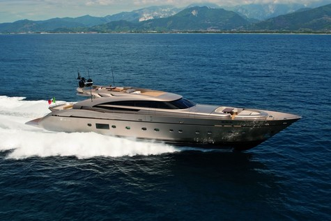 Yacht charter in Saint-Tropez AB Yachts MUSA