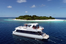 Charter yachts in Maldives Verblue OVER REEF