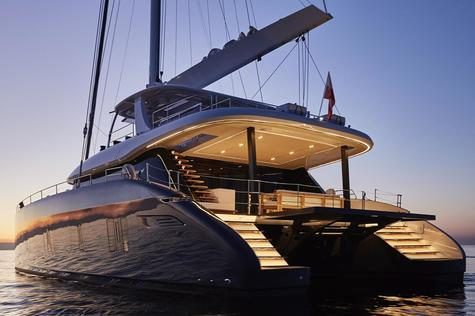 Sailing yachts for rent Sunreef Yachts GENNY