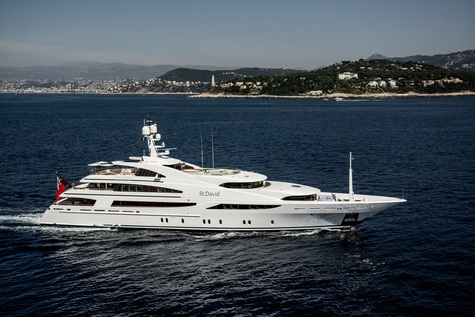 Yacht сharter in the Canary Islands Benetti 60m ST DAVID