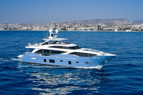 Yachts for sale in Thailand Princess 30M