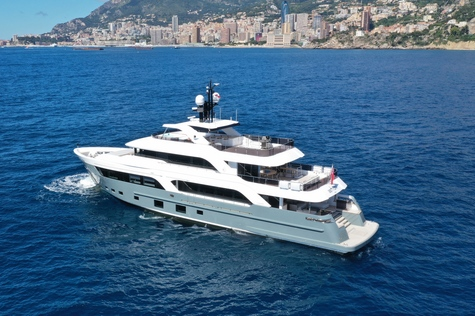 Motor yachts: super and megayachts Cantiere Delle Marche Acciaio 123 Astrum